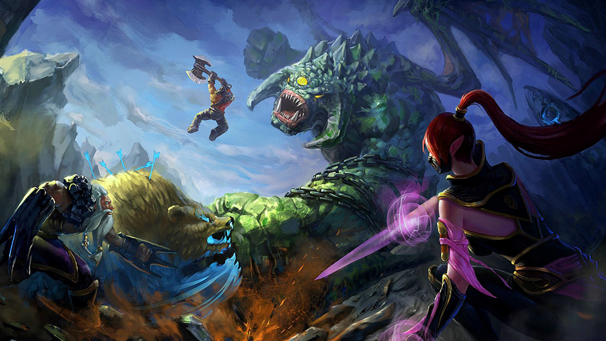 DOTA 2 Clash HD Wallpaper