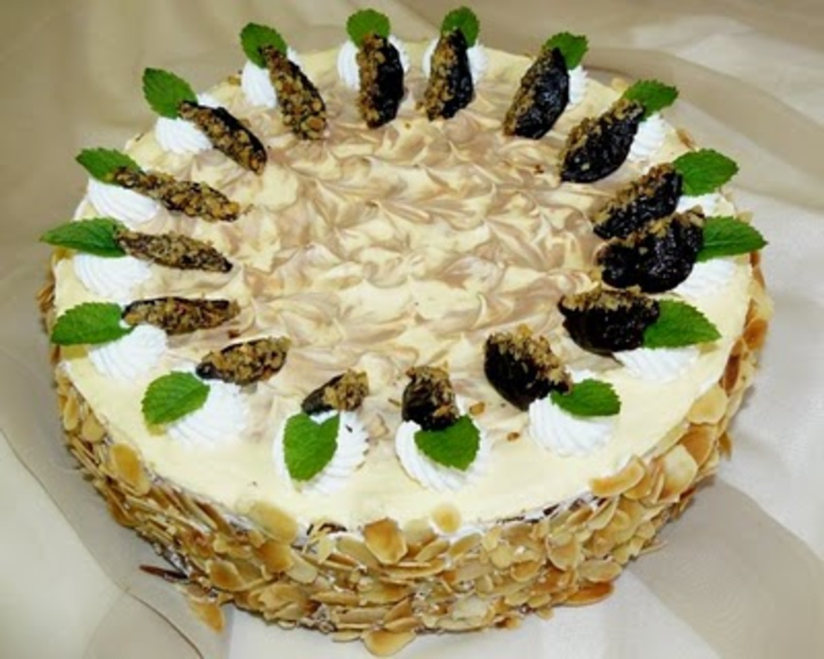 Plum of Szatmár cake