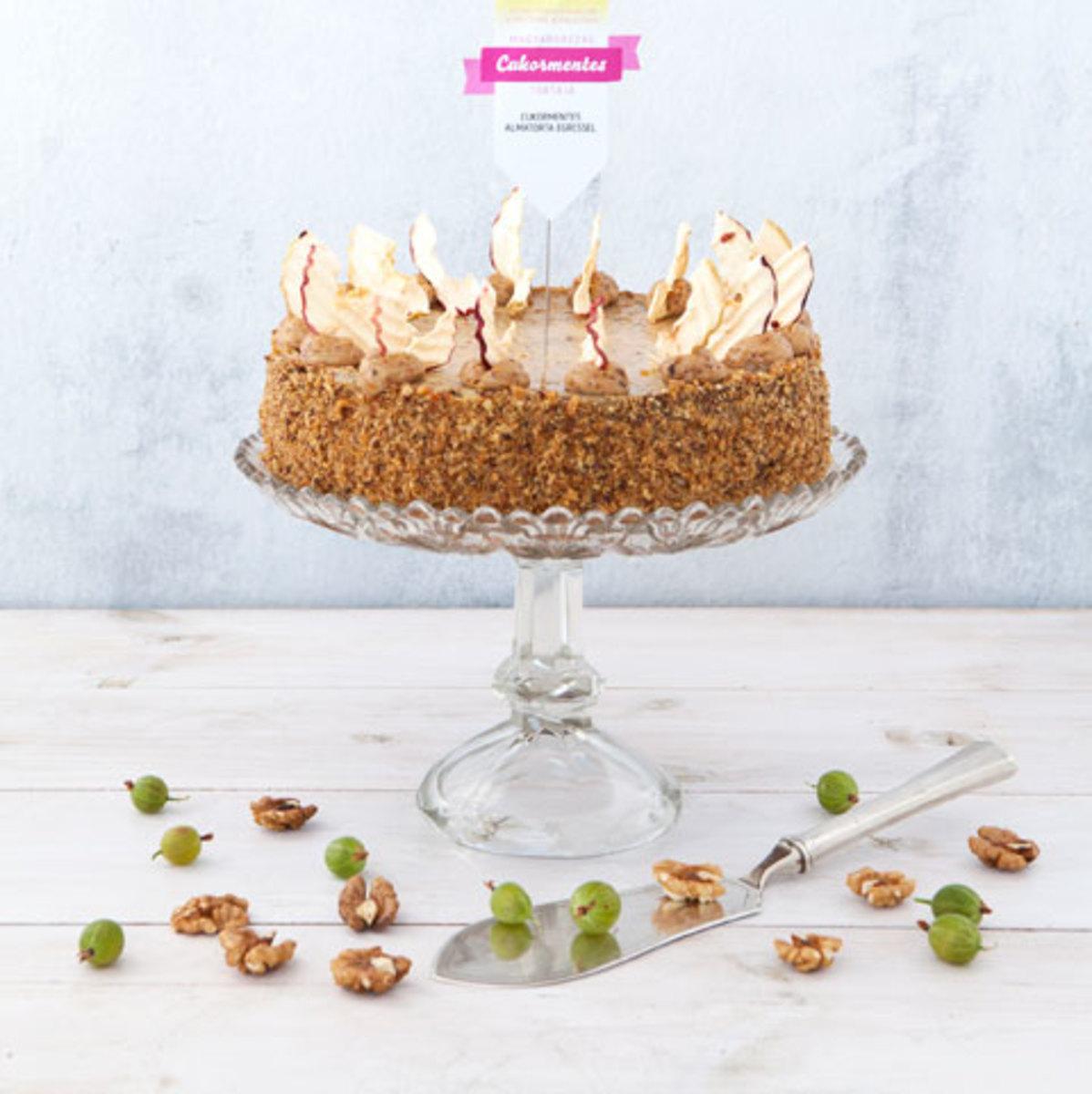 Gooseberry apple cake