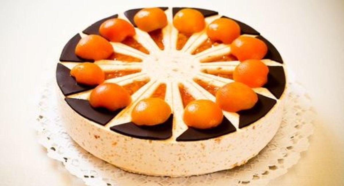 Millet cake with Kecskemét apricot