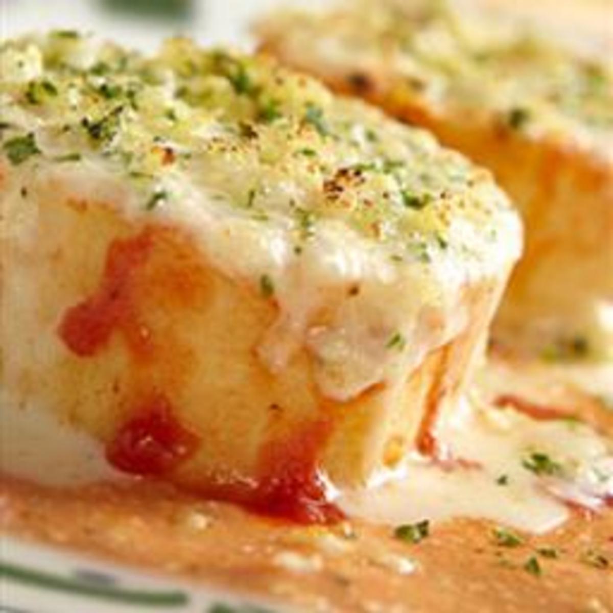 Olive Garden Copy Cat Lasagna Rollata Al Forno Recipe