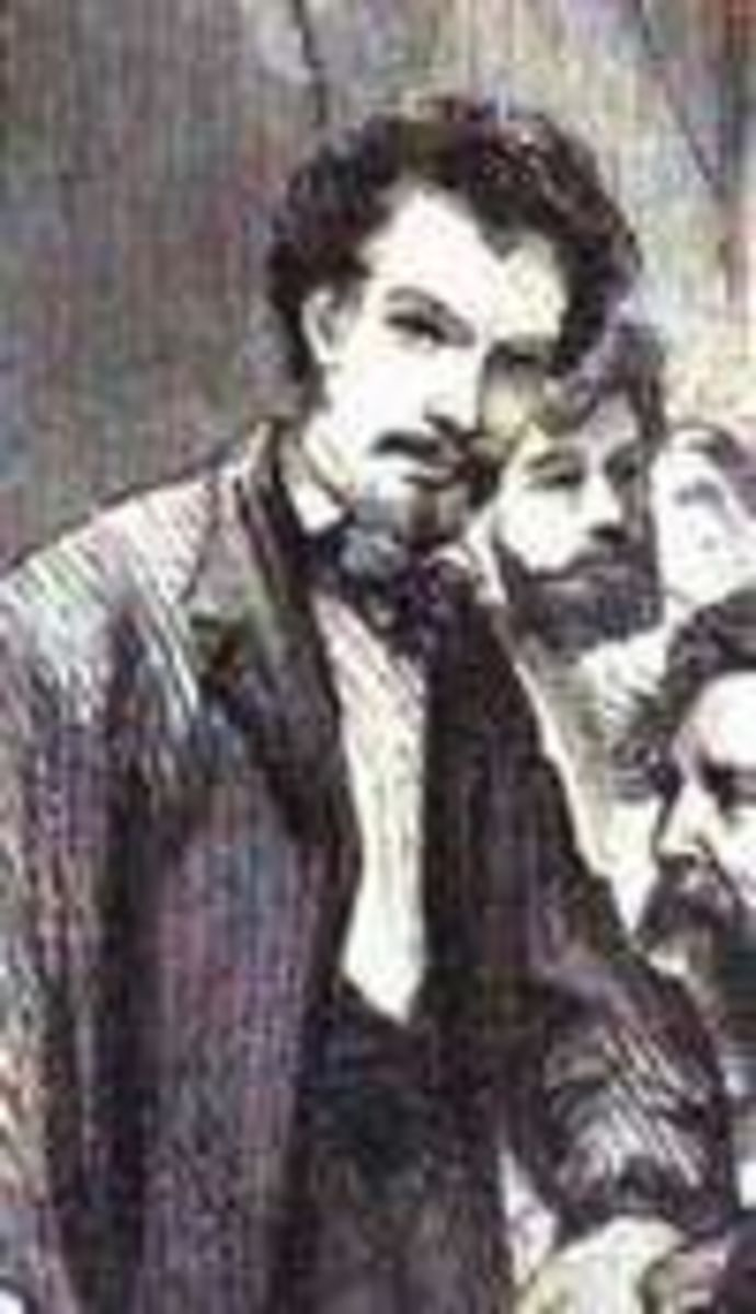 Meyerheim's portrait by Ludwig Loffler