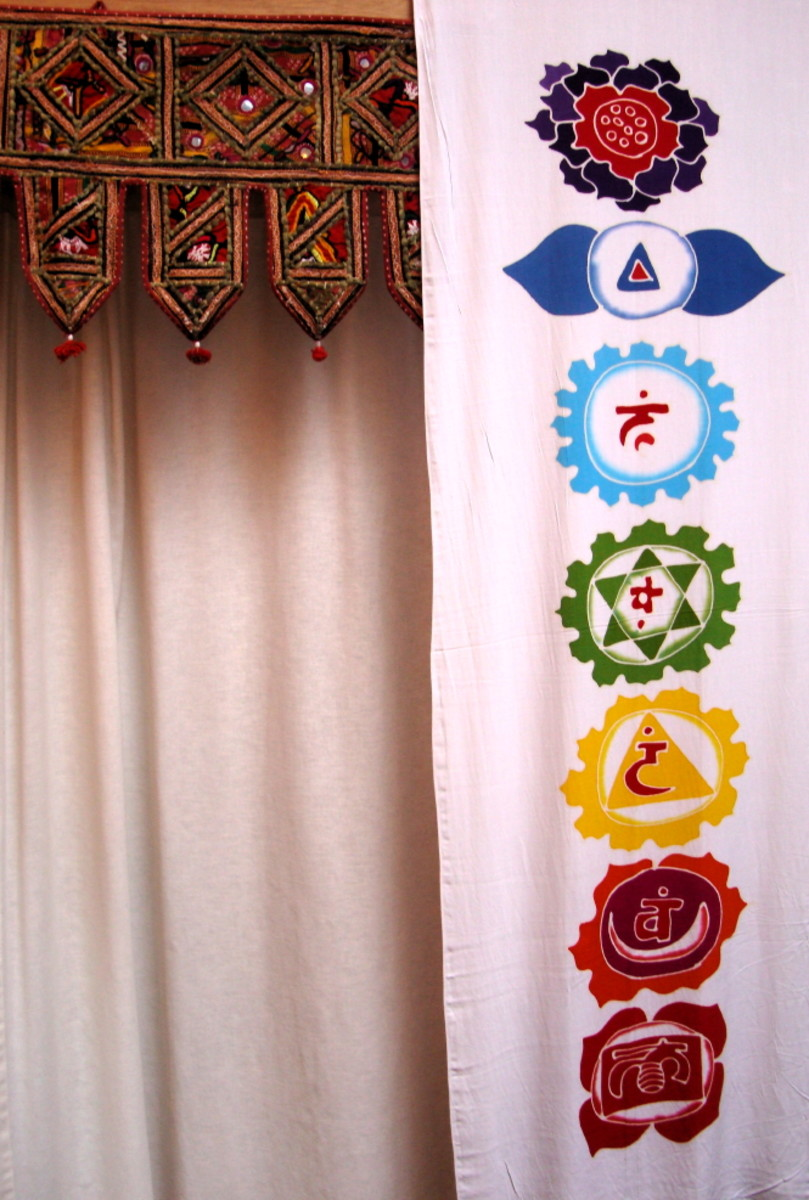 cloth chakras