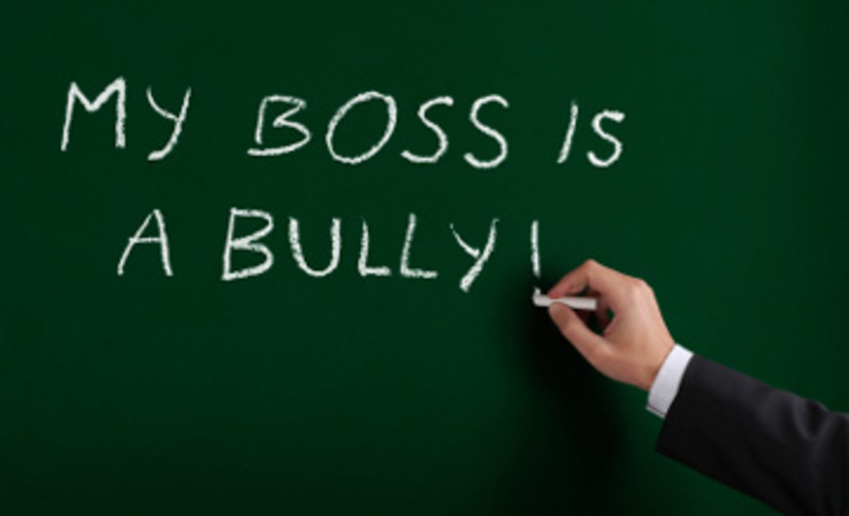Twenty Signs Your Manager is a Bully (if you are new on the job)