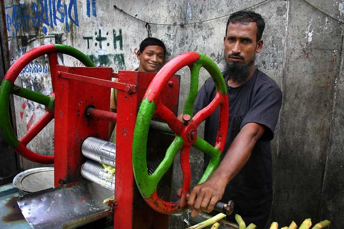 sugarcane juicing machine