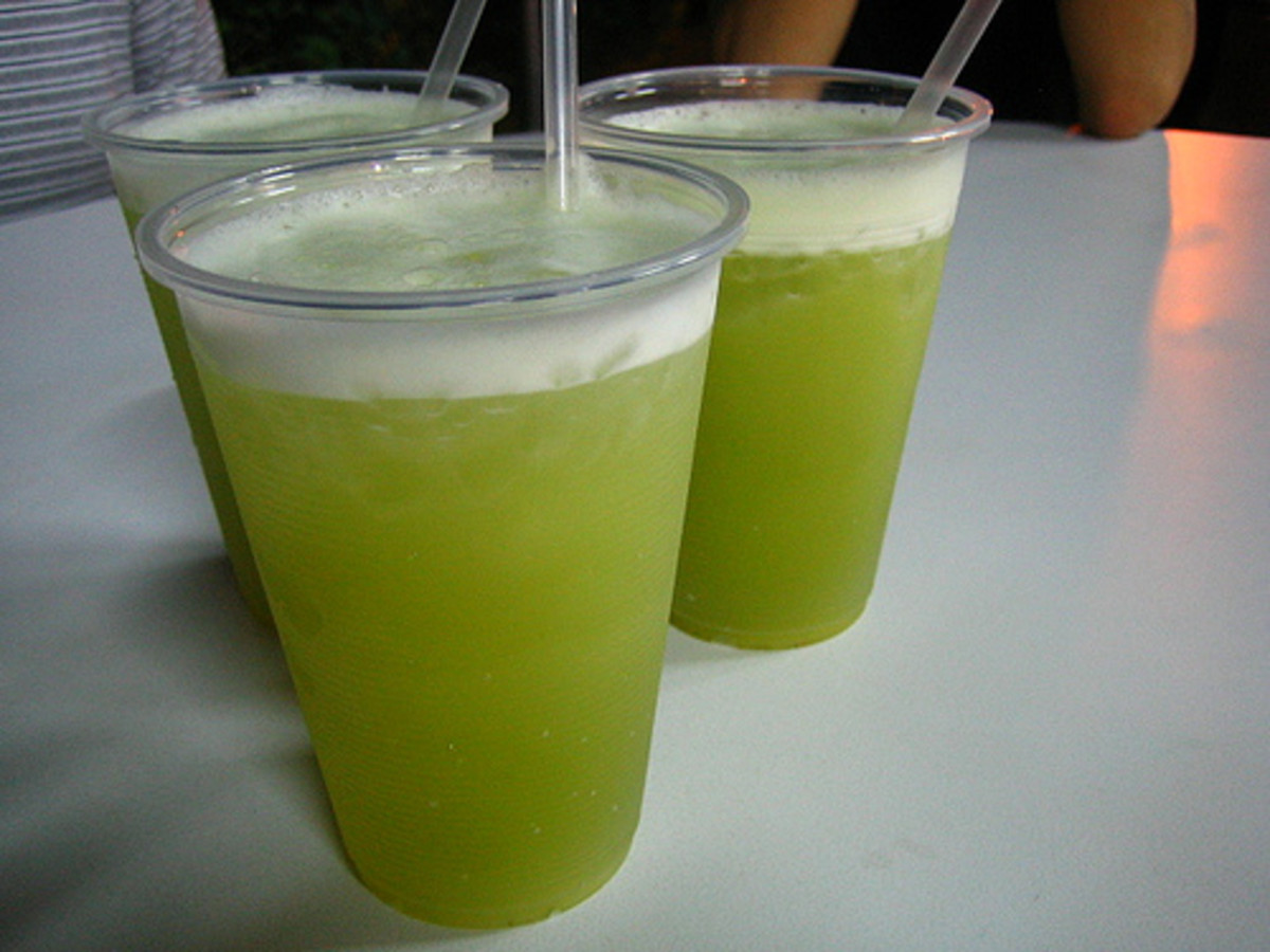 fresh sugarcane juice