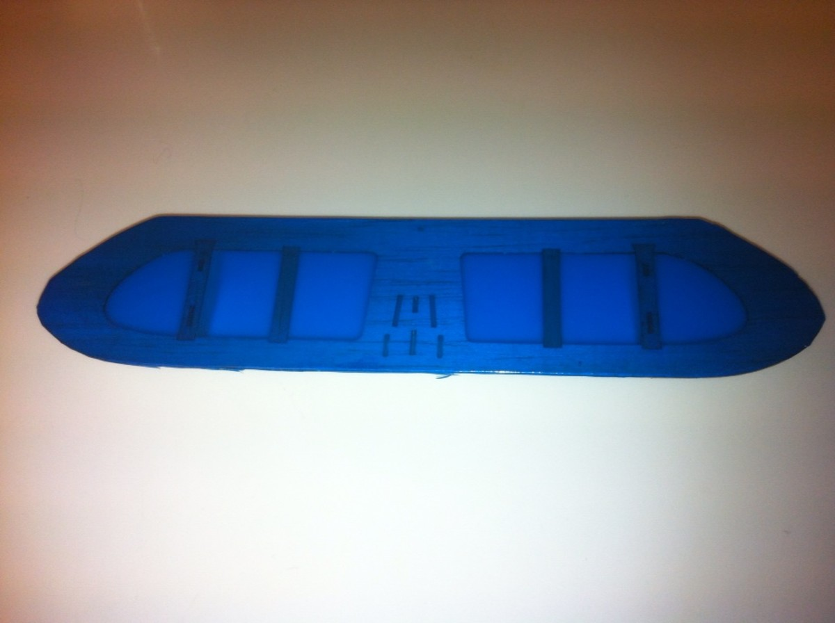 The Fully Covered Horizontal Stabilizer. My first attempt at using this covering material.