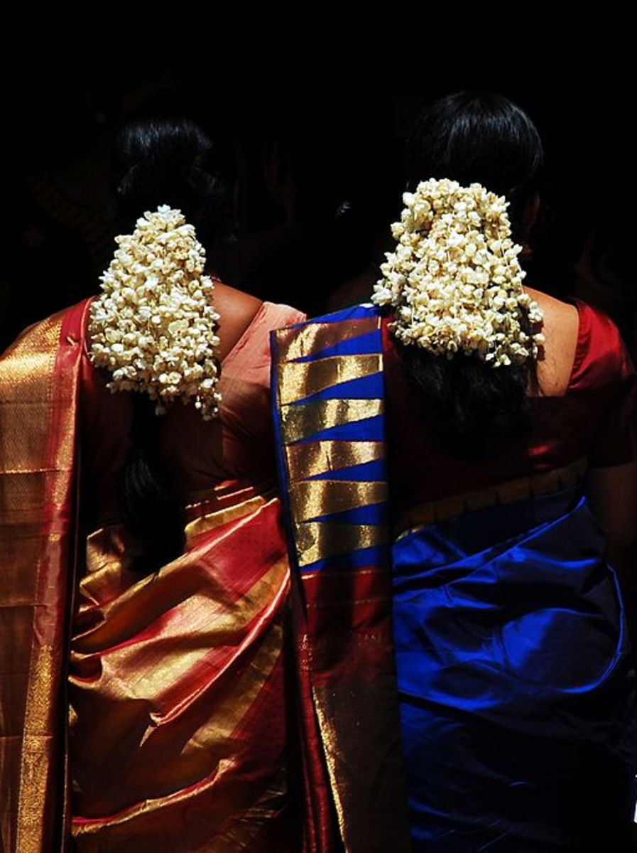 Ladies during auspicious occasions