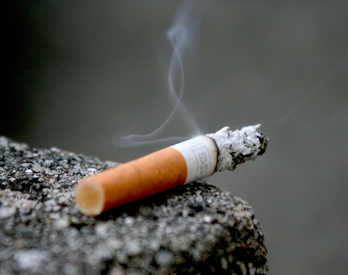 About 85% of the smoke from a cigarette forms second hand and third hand smoke