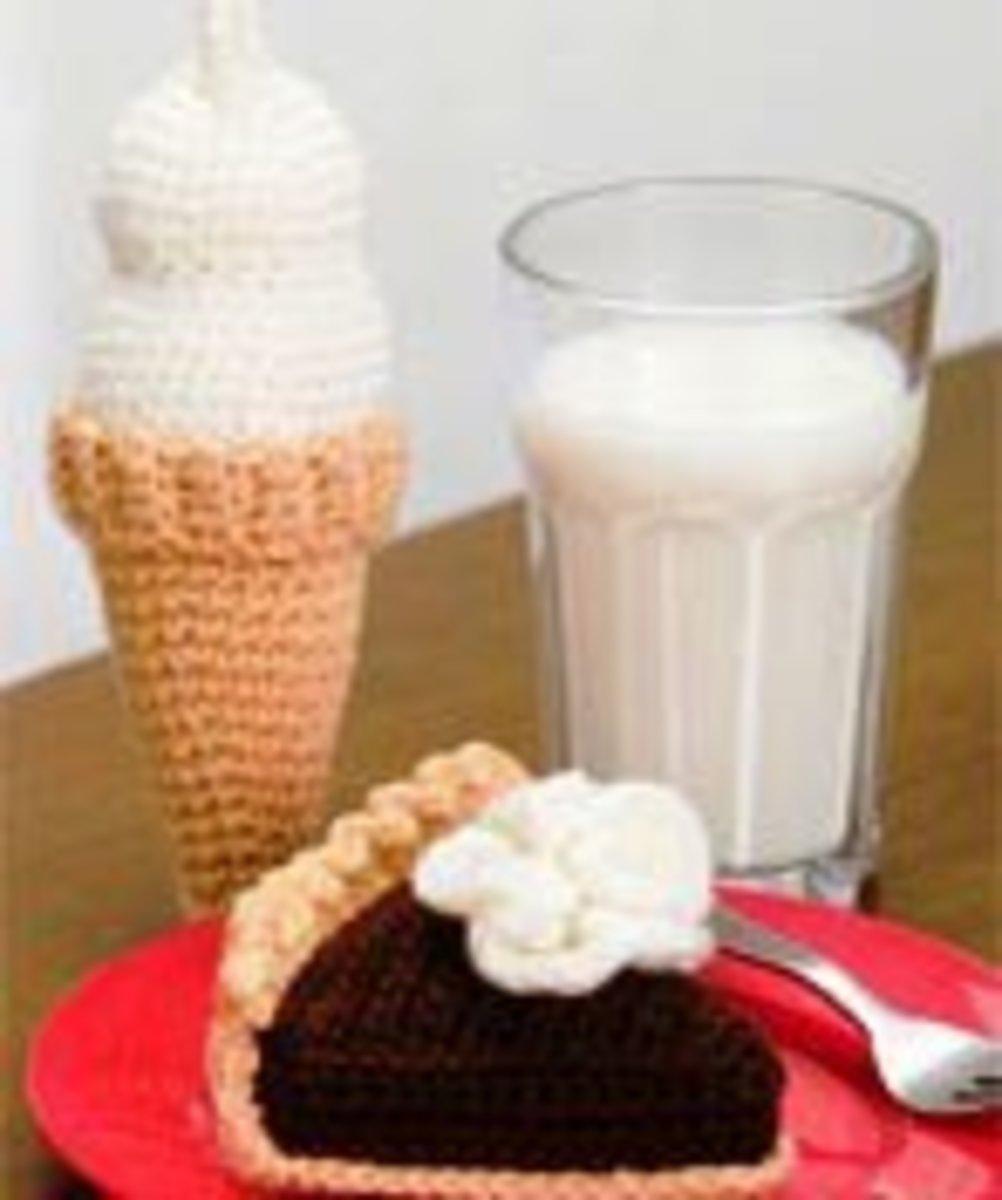 Chocolate Pie and Ice Cream