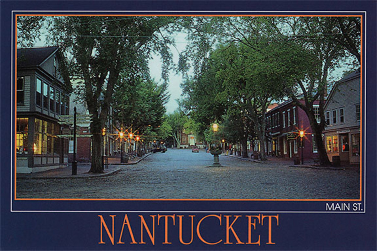 The town of Nantucket.