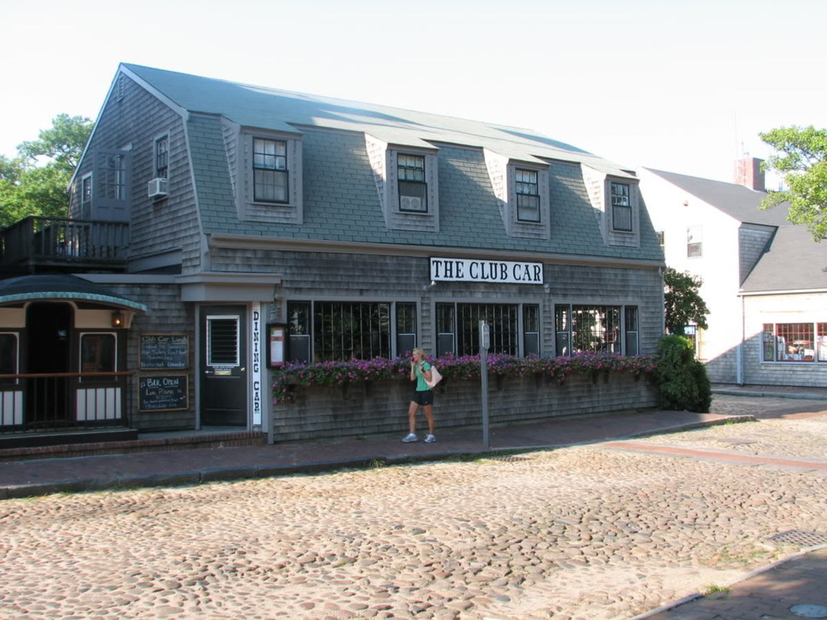 The Club Car is in the heart of historic Nantucket.