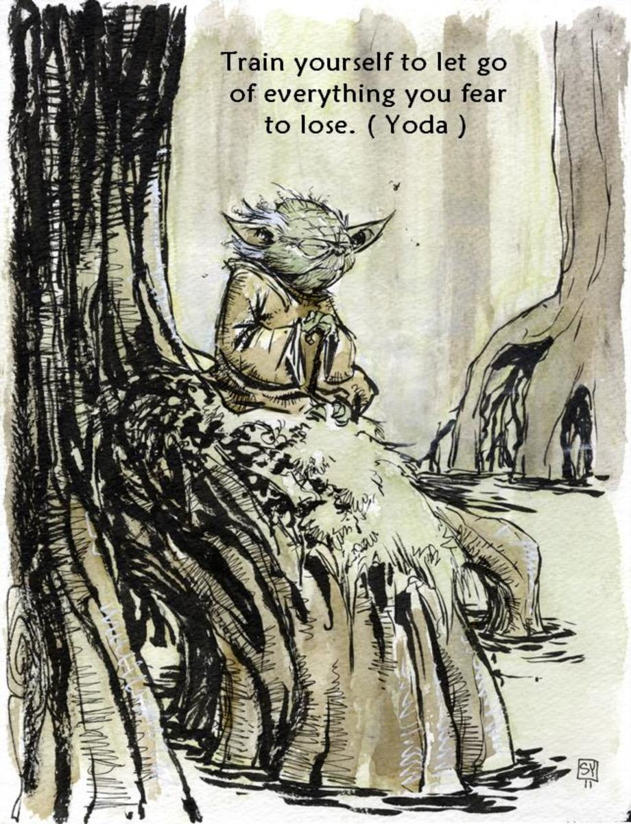 Movie Quotes - Yoda from Star Wars