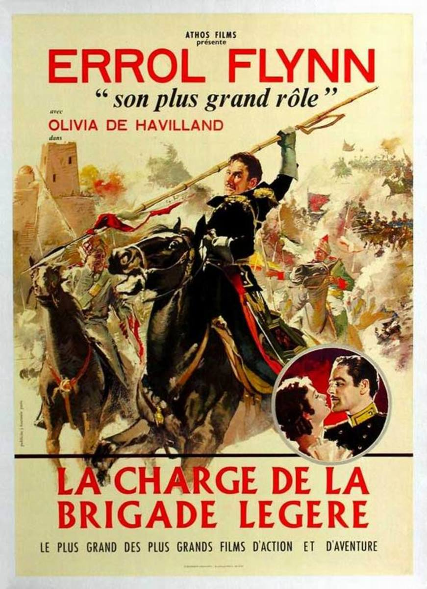 The Charge of the Light Brigade (1936) French poster