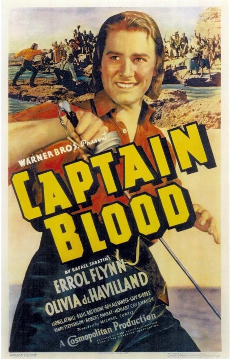 Errol Flynn - 100 Years of Movie Posters - 92