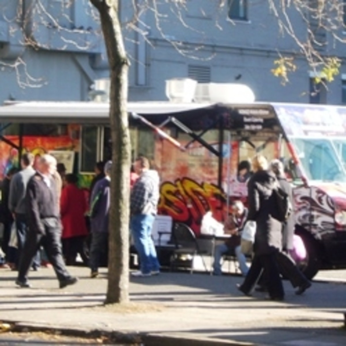 Nomad Curbside Food Truck in Seattle
