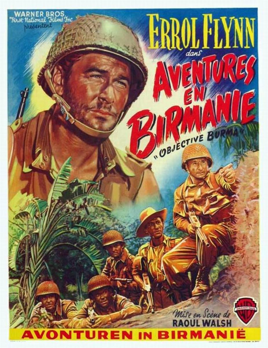 Objective Burma! (1945) Belgian poster