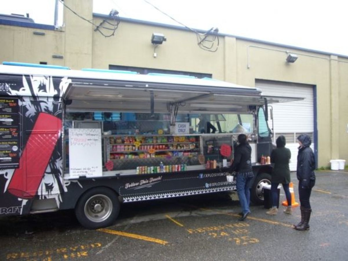 Xplosive Food Truck - Seattle