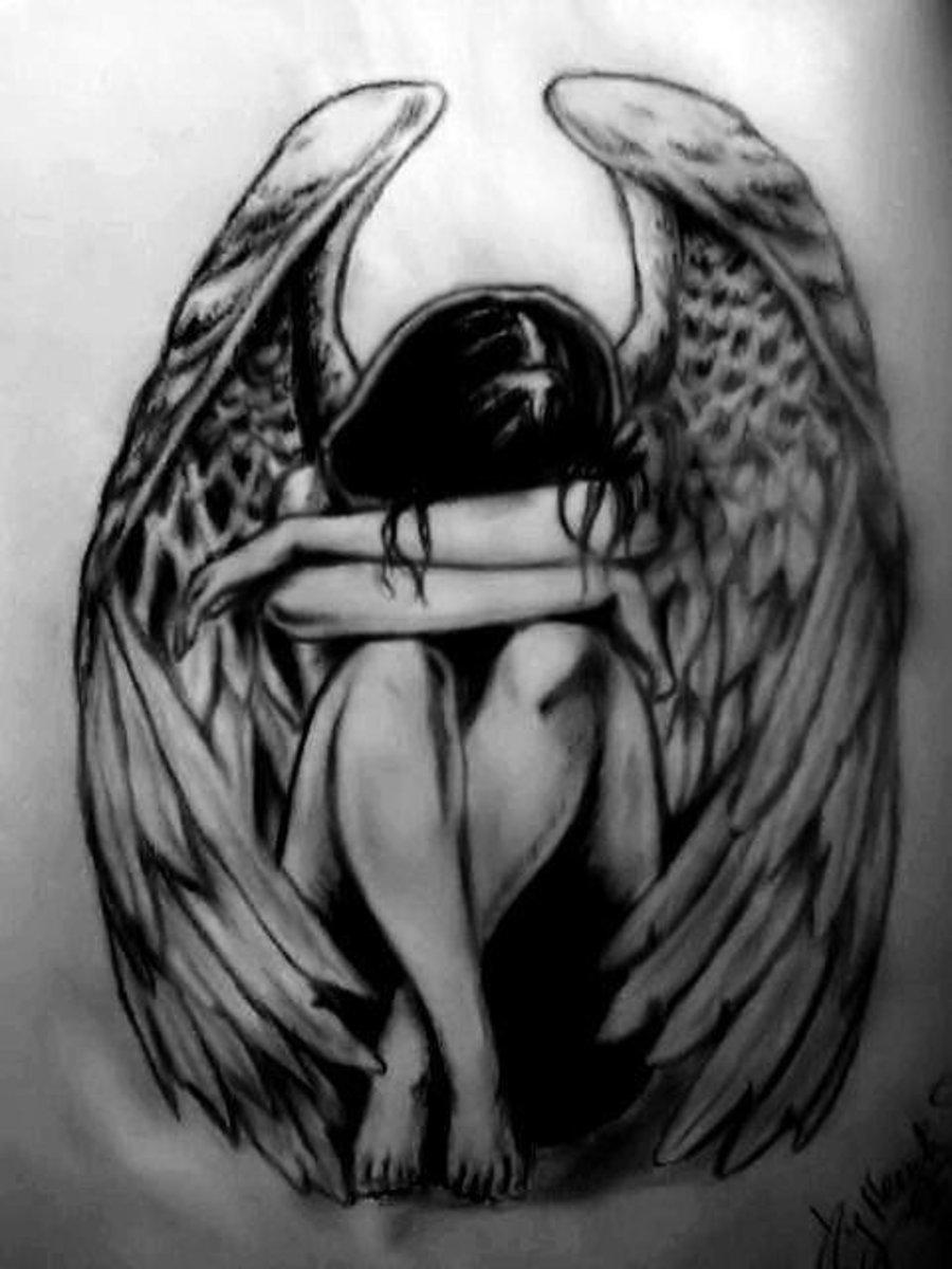 Poem: The Tears of Fallen Angels