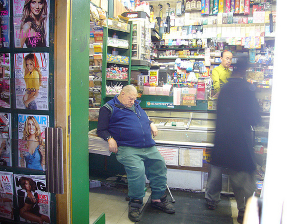 Cashiers work in many diferent types of environments.