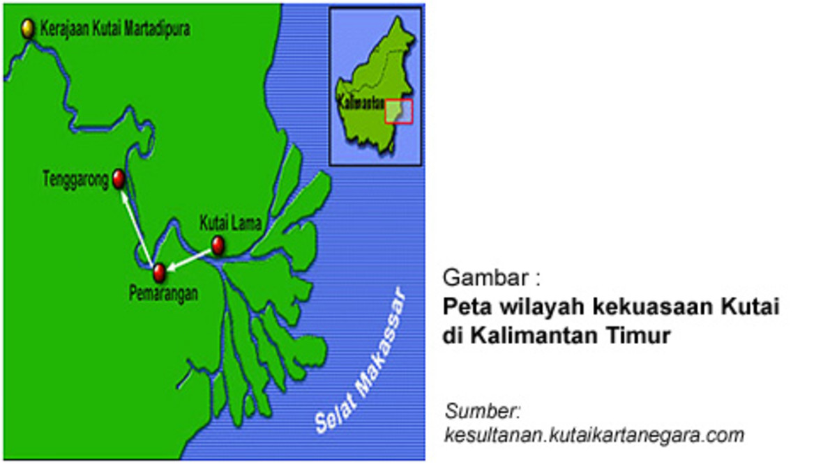 Kutai Martadipura Kingdom Area