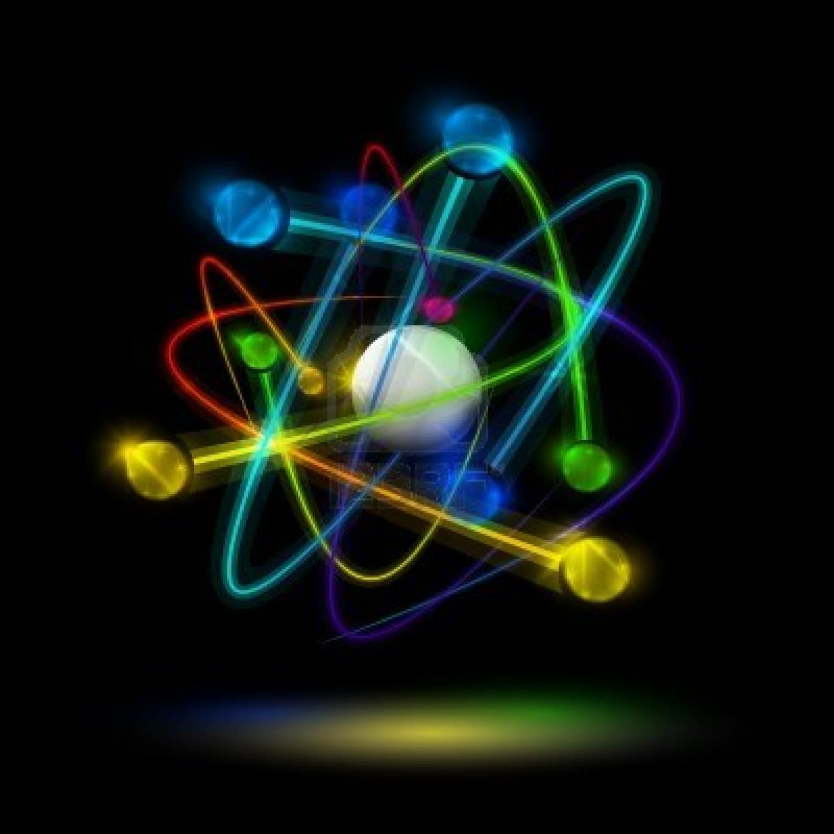 Atomic Nucleus Wallpaper PC Most Beautiful