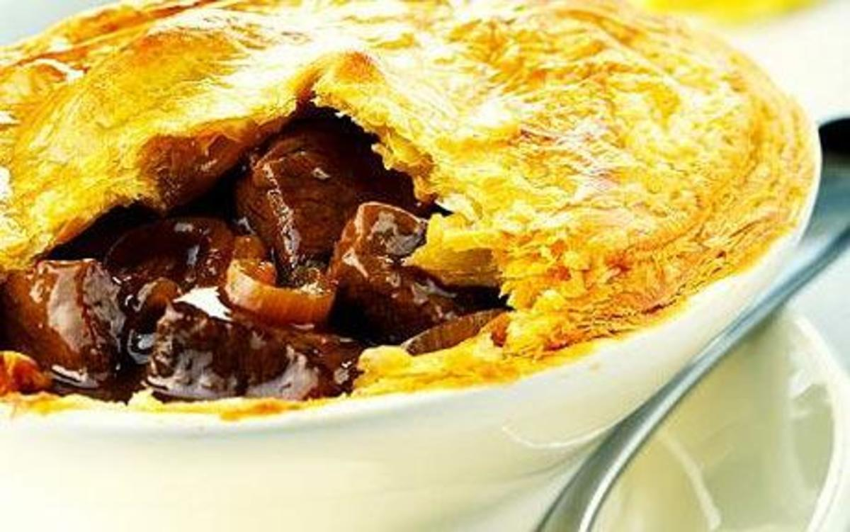 Delicious Pigeon Pie