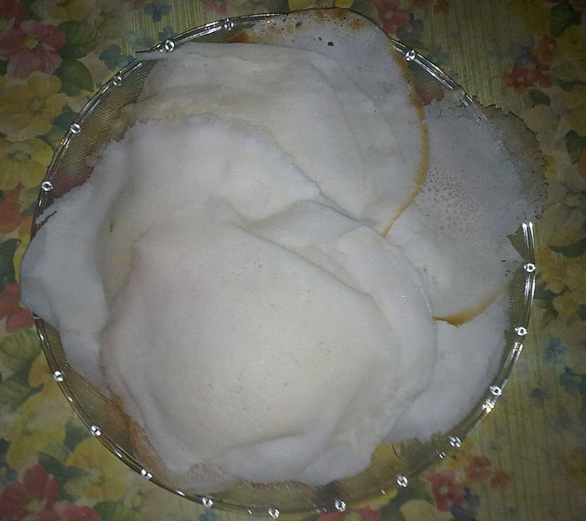 Vellappam, traditional break fast item.