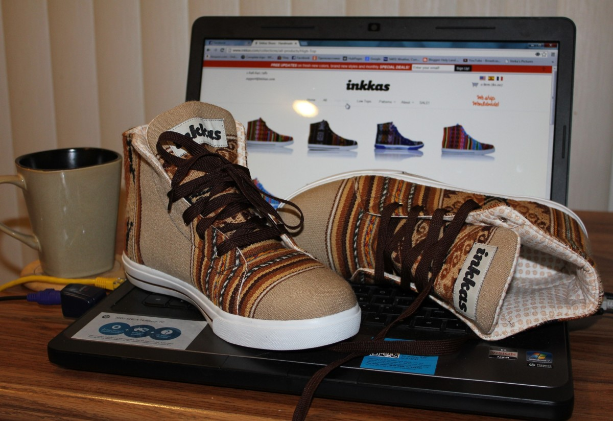 Inkkas Shoes, My Love at First Sight. Inkkas Shoes Review with a Bonus.