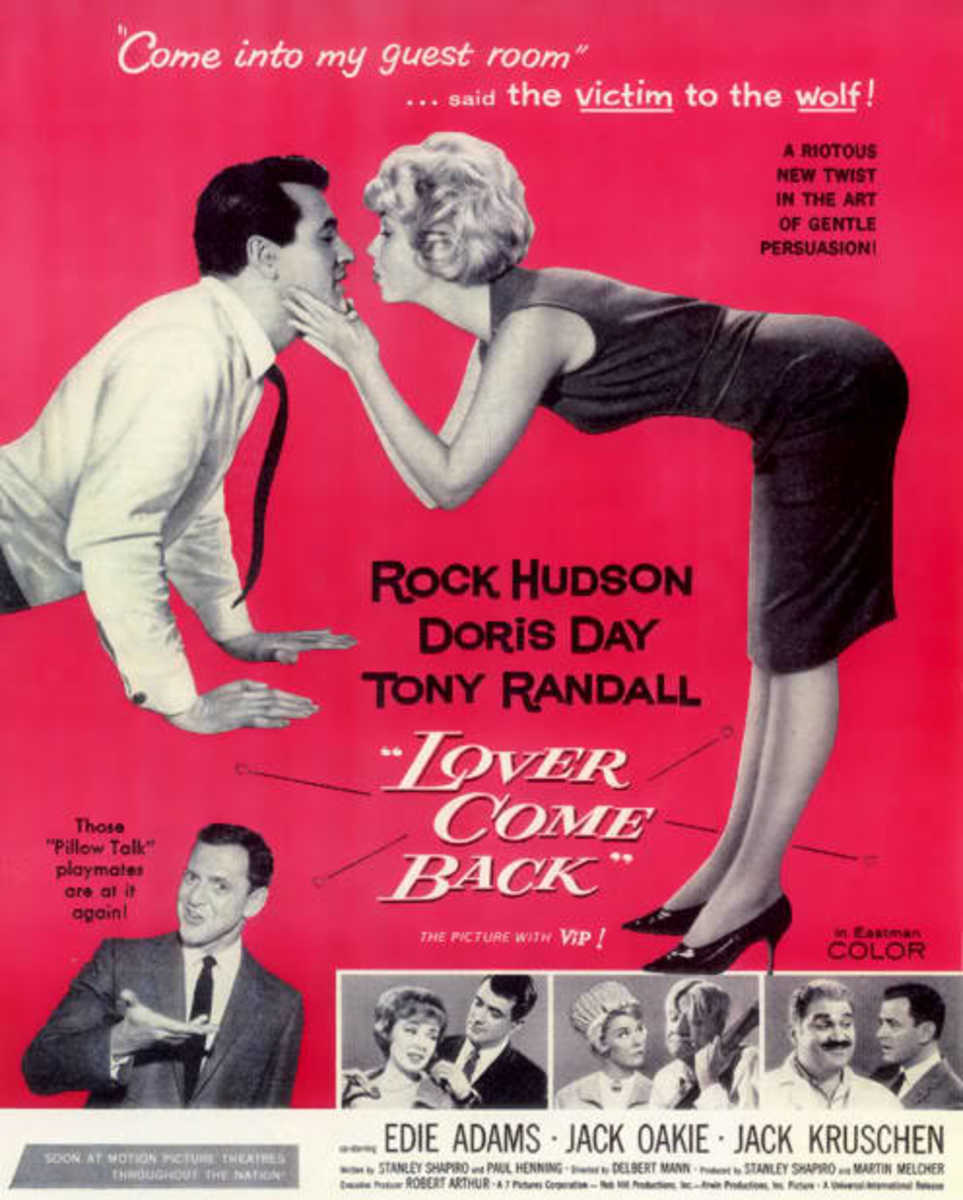 Movie Poster from 'Lover Come Back'