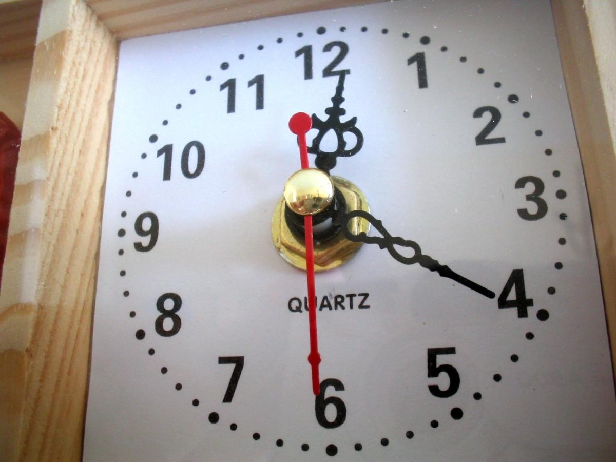 Clocks, one of Hong Kong's main exports.