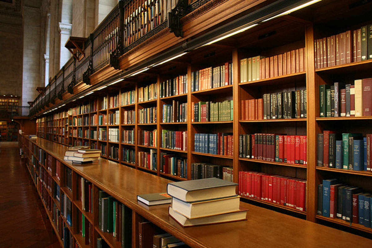 Research topics are just as endless as the amount of books in the largest library.
