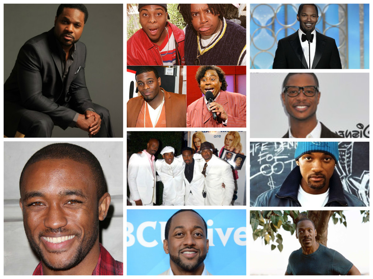 Malcolm Jamal Warner, Kenan Thompson, Kel Mitchell, Jamie Foxx, Lee Thompson Young, Marlon Wayan, Shawn Wayan, Damon Wayan, Keenan Ivory Wayan, Arjay Smith, Jaleel White, Will Smith, Eddie Murphy