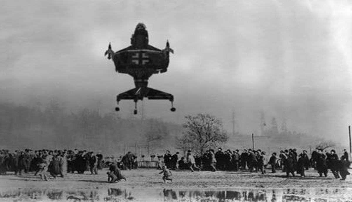 Hitler's Heinkel Lerche: The First VTOL Aircraft