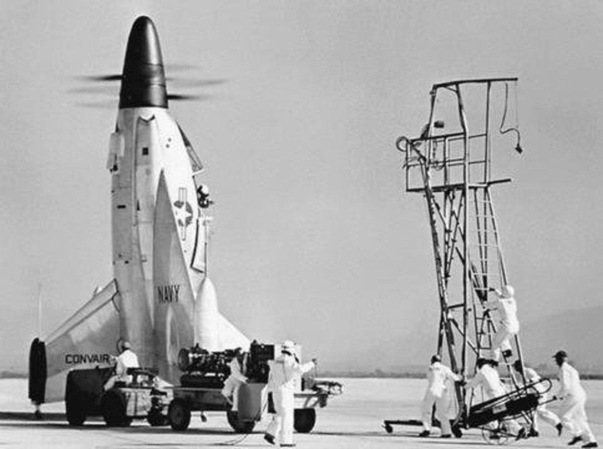 The Convair in 1954