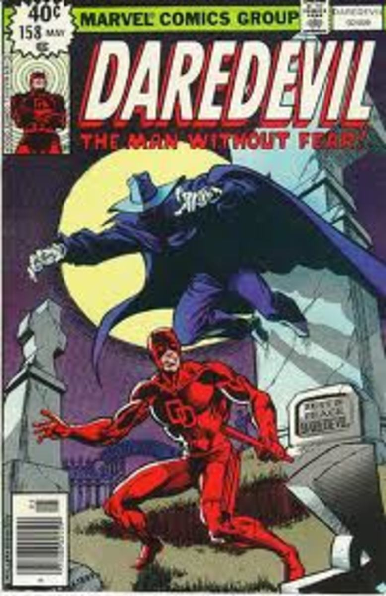 The book that features the first Frank Miller work on Daredevil.