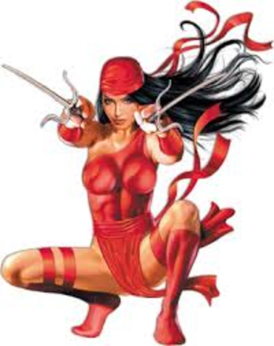 The beautiful but deadly Elektra.