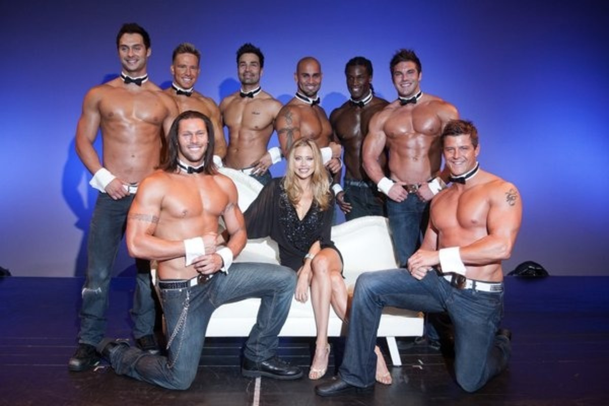 Bachelorette Party At Chippendales In Las Vegas
