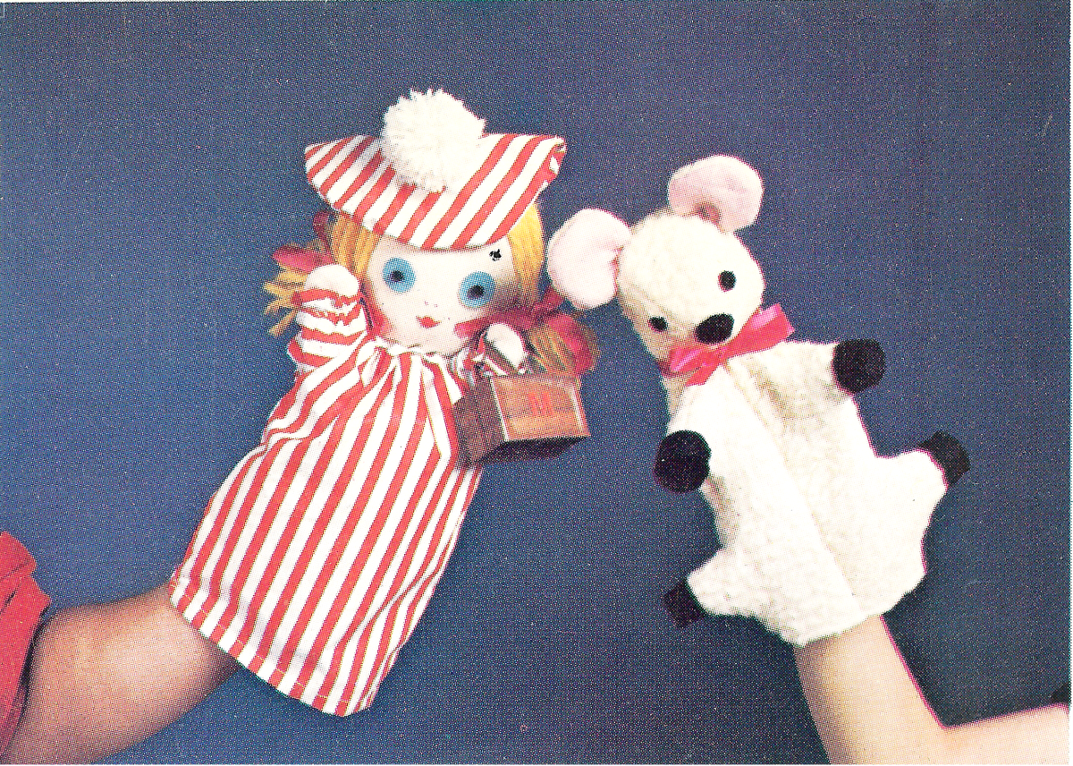 Hand Puppets - Mary Had a Little Lamb