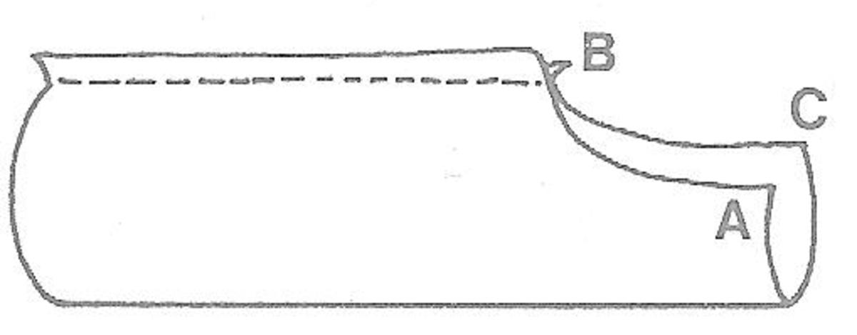 Figure 4 - Making a Leg Piece