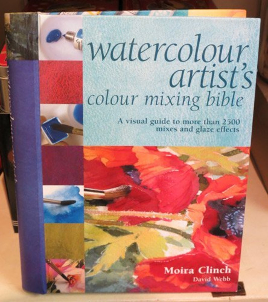 The Watercolor Mixing Directory is known as The Watercolour Artist's Colour Mixing Bible in the UK - and looks like this
