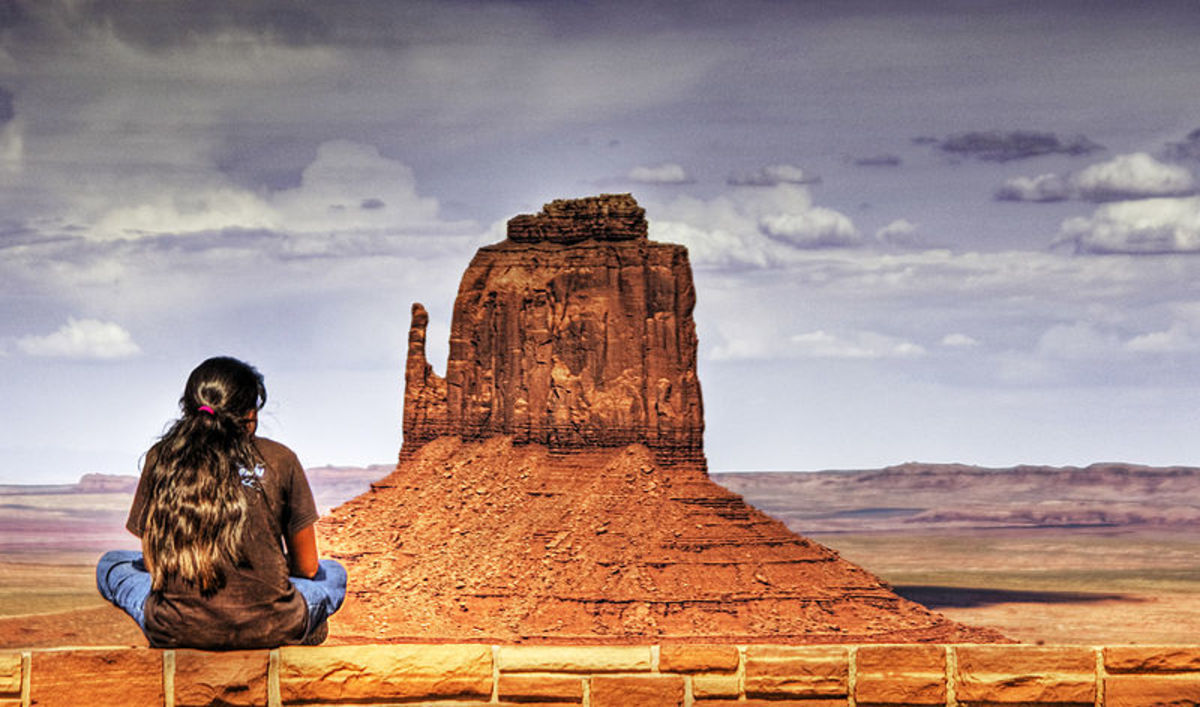 Navajo Girl, Window Rock, Arizona