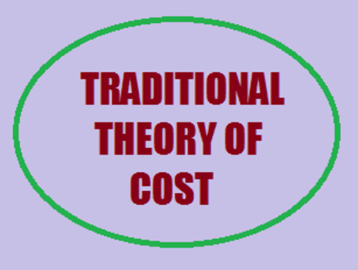 Traditional Theory of Cost