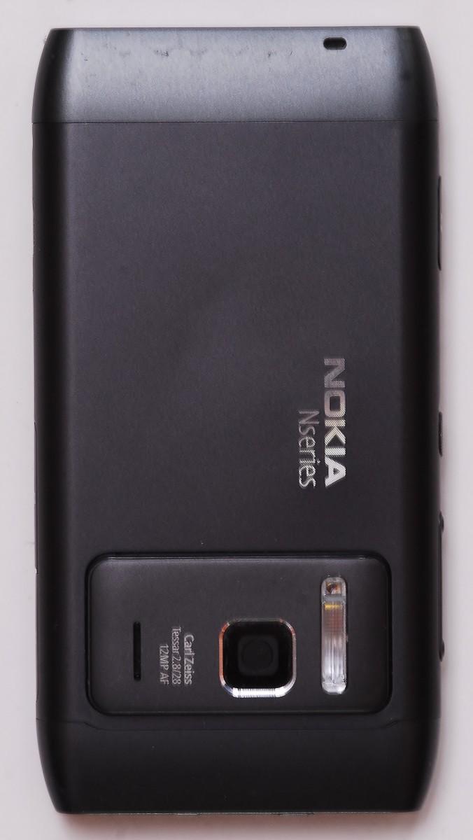 Nolia N8 Mobile Phone (Rear)
