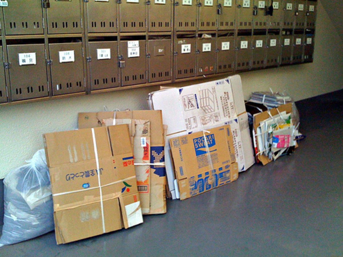 Cardboard for shipping Ebay items