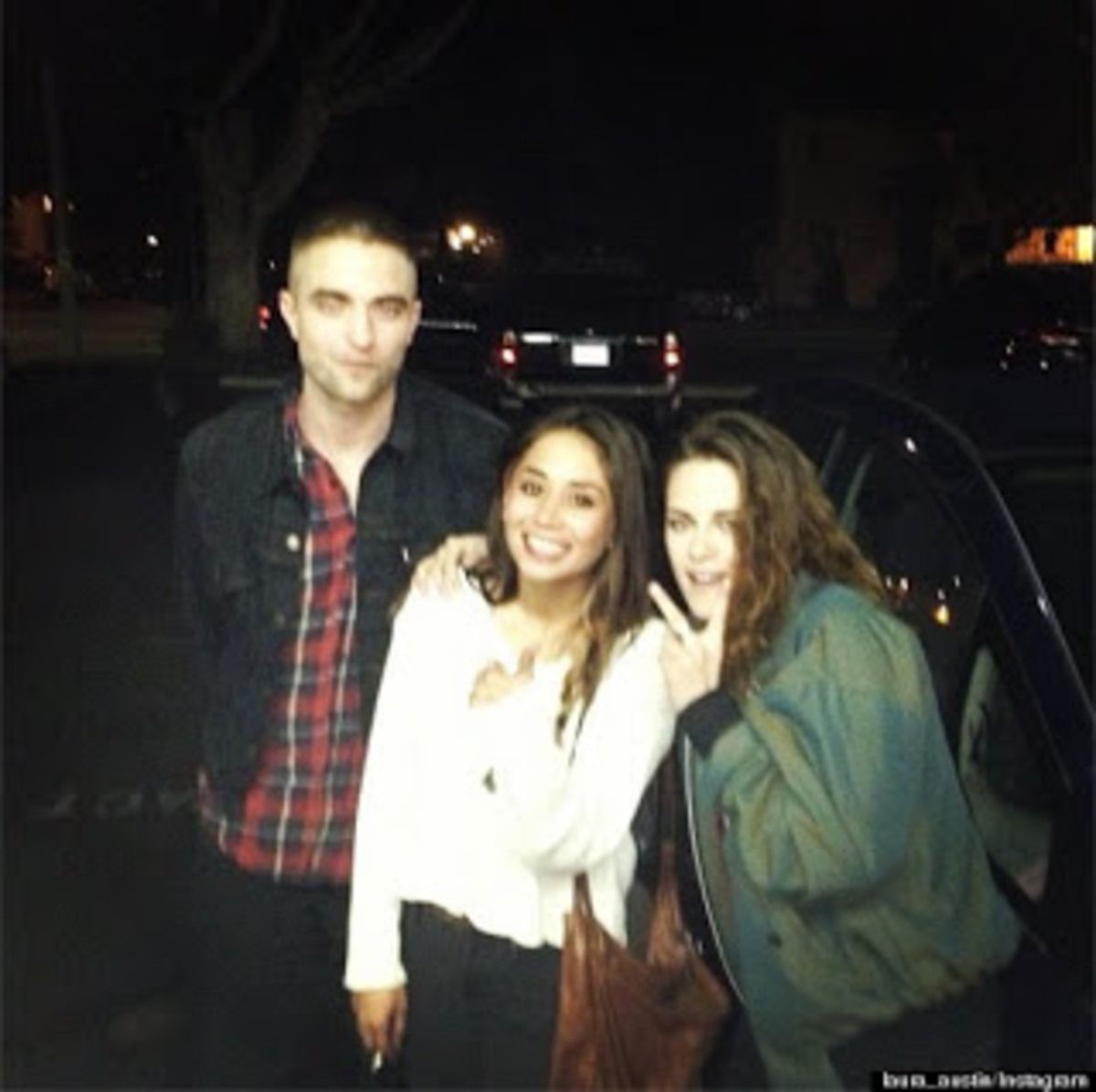 March 21, 2013 - This is Robert & Kristen, obviously still together after this 2nd round of gossip lies. They NEVER 'separated.