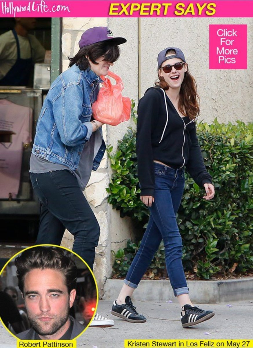 This sure looks like Kristen's mom with her in a wig - days after the robsten breakup rumors came out in May 2013. All photos for educational purposes.