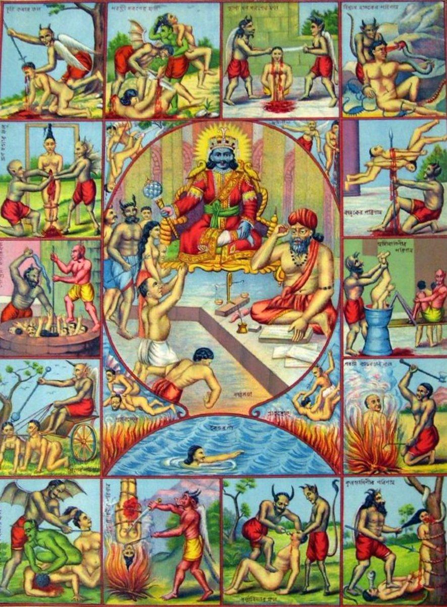 Hindu Hell (Naraka)