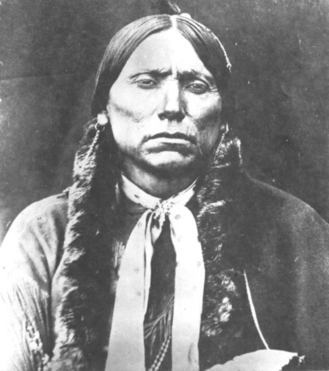 Native American Chiefs -- Quanah Parker