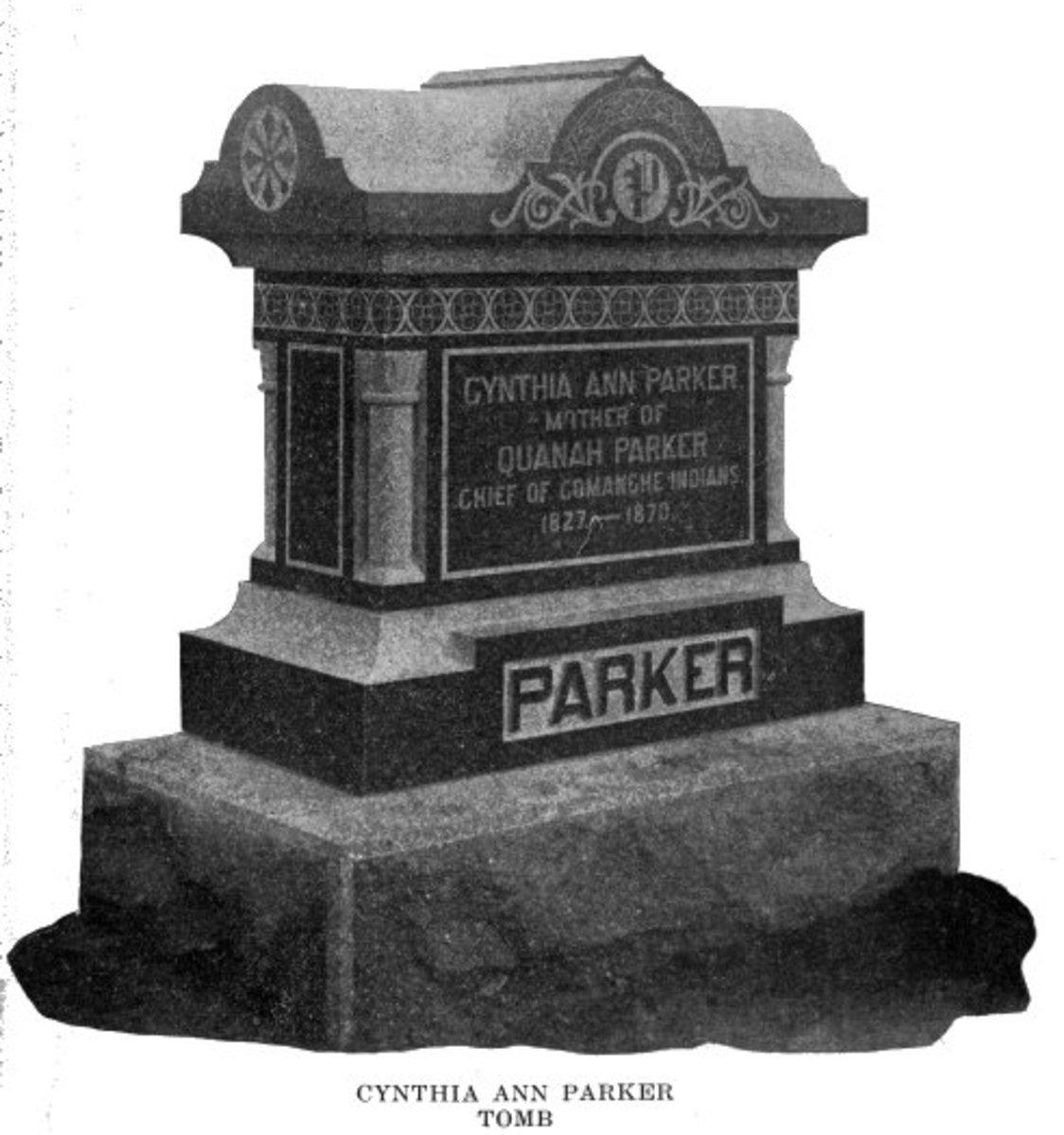 Cynthia Ann Parker's tomb